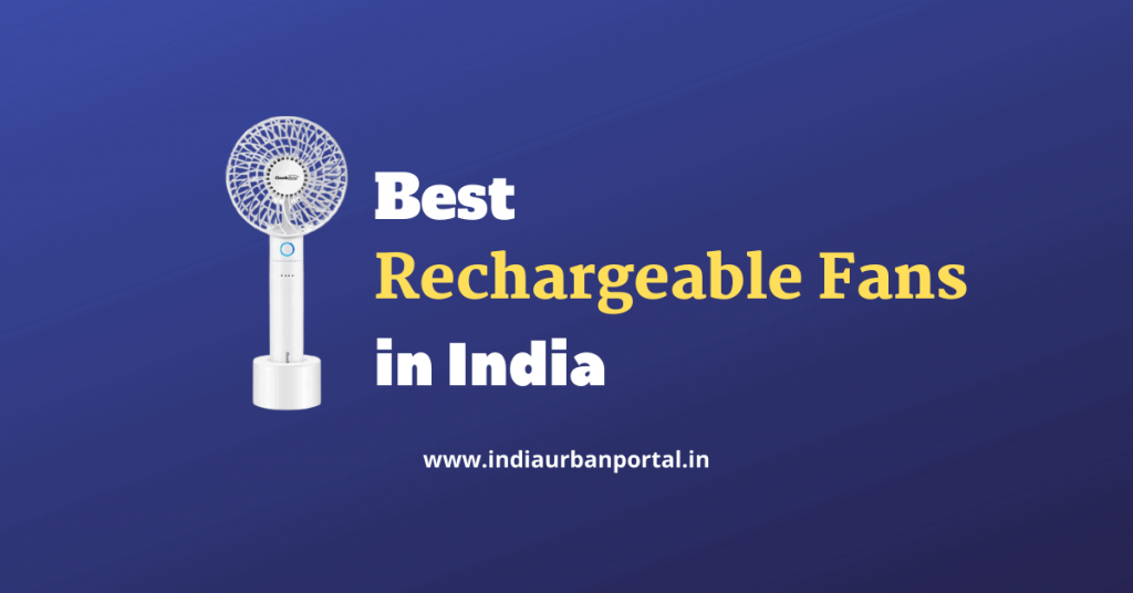 Best Rechargeable Fans in India
