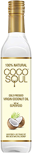 Coco Soul Cold Pressed Natural Virgin Coconut Oil, From the makers of Parachute, 250 ml