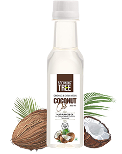 Speaking Tree - Organic, Extra Virgin (Cold Processed) Coconut Oil